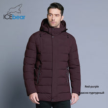 Load image into Gallery viewer, ICEbear 2019 new men's winter  jacket warm detachable hat male short coat fashion casual apparel man brand clothing MWD18813D - Starttech Online Market