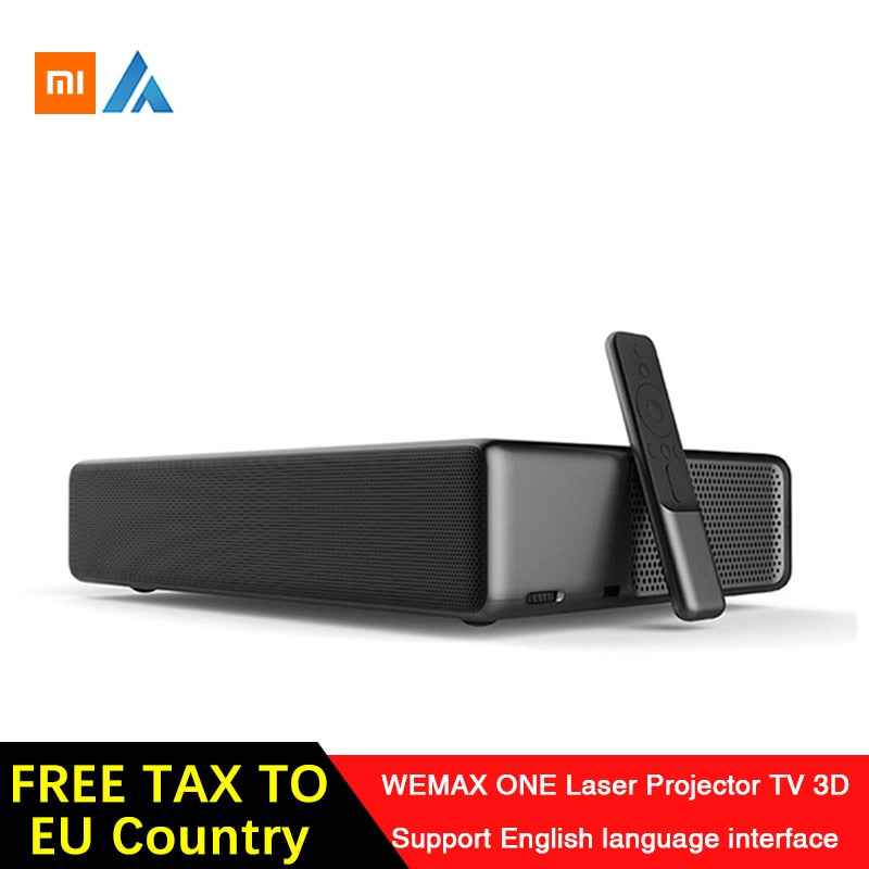 Xiaomi Fengmi Wemax One English Interface Laser Projector TV 5500 lumen 150 Inche 1080 Full HD 4K Support Bluetooth BT DOLBY DTS - Starttech Online Market