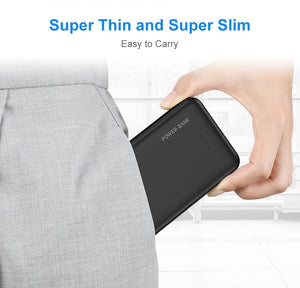 FLOVEME Power Bank 10000mAh Portable Charger For Samsung Xiaomi mi Mobile External Battery Powerbank 10000 mAh Poverbank Phone - Starttech Online Market