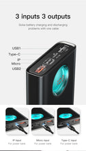 Load image into Gallery viewer, Baseus 20000mAh Power Bank For iPhone Samsung Huawei Type C PD Fast Charging + Quick Charge 3.0 USB Powerbank External Battery - Starttech Online Market