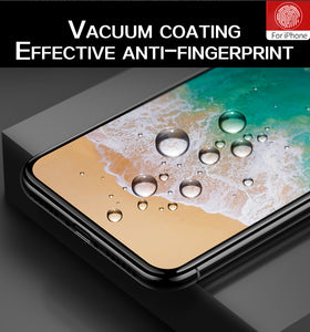 9D protective glass for iPhone 6 6S 7 8 plus X glass on iphone 7 6 8 X R XS MAX screen protector iPhone 7 6 screen protection XR - Starttech Online Market