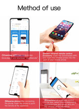 Load image into Gallery viewer, Baseus Mini Universal Remote Control For Samsung LG Air Mouse USB Type C Smart IR Controller Adapter For Android TV Aircondition - Starttech Online Market