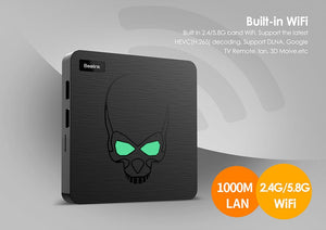 Beelink GT-King Smart Android TV Box Android 9.0 Amlogic S922X 4GB 64GB 2.4G Voice Control 5.8G WiFi 1000Mbps LAN Set-Top Box - Starttech Online Market