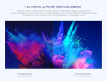Load image into Gallery viewer, NEW Xiaomi Mijia DLP Smart Mini Projector 500ANSI Home Theater 1080P Voice Control 2GB 8GB 5G WiFi 3D Dolby LED Cinema Projector - Starttech Online Market