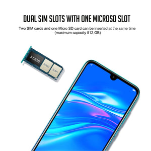 "Huawei Enjoy 9 Smart Phone 3+32G 6.26"" Android 8.1 Octa Core Huawei Y7 Pro Mobile Phone 4000mAh Dual Card Dual Stand 4000mAh - Starttech Online Market"
