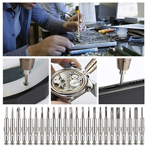 25 in 1 Mobile Phone Repair Tools Kit Spudger Pry Opening Tool Screwdriver Set for iPhone iPad Samsung Cell Phone Hand Tools Set - Starttech Online Market