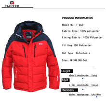 Load image into Gallery viewer, 2019 new winter jacket men Fashion Coat men's casual Parka Waterproof Outwear Brand Clothing men jackets Thick Warm Mens Quality - Starttech Online Market