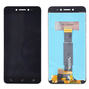 "New For 5.0"" Asus ZenFone Live ZB501KL X00FD A007 LCD screen display with frame touch panel digitizer white/black free shipping - Starttech Online Market"