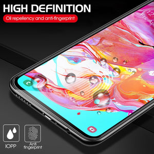 2 in 1 A70 Camera Glass on the For Samsung Galaxy A70 Screen Protector A 70 Tempered Glas Protective Lens Tempered Glass Film - Starttech Online Market