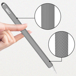 For Apple Pencil 2 Case Soft Silicone Holder Stylus Pen Cover Compatible For Apple Ipad Tablet Touch pen Protective Case 2018 - Starttech Online Market