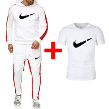 Load image into Gallery viewer, Fashion New Arrival Sporting Suit Men Hoodies Sportswear Casual Sweatshirt+Sweatpants+tees 3 Pieces Sets Tracksuit Men Suits Set - Starttech Online Market