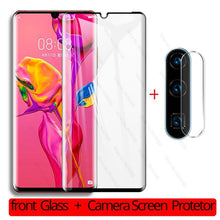 Load image into Gallery viewer, 2-in-1 Camera Lens Protector for Huawei P30 Pro Tempered Glass Screen Protector for Huawei P 30 Pro Lite Light P30Pro P30Lite - Starttech Online Market