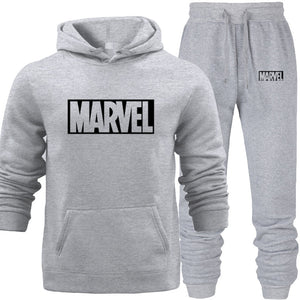 Hoodies Suit Yellow Men's Hooded Sweat Wear Sets with Pocket Warm Fleece Spring Autumn Street Hip-hop Lover's Match Sports Wear - Starttech Online Market