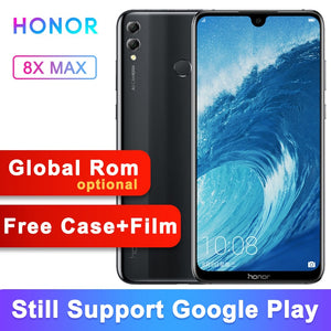 "Original Honor 8X Max 6G 64G Global Rom 5000mAh 7.12 ""FHD Display Snapdragon 636/660 Android 8.1  OTG Smartphone - Starttech Online Market"