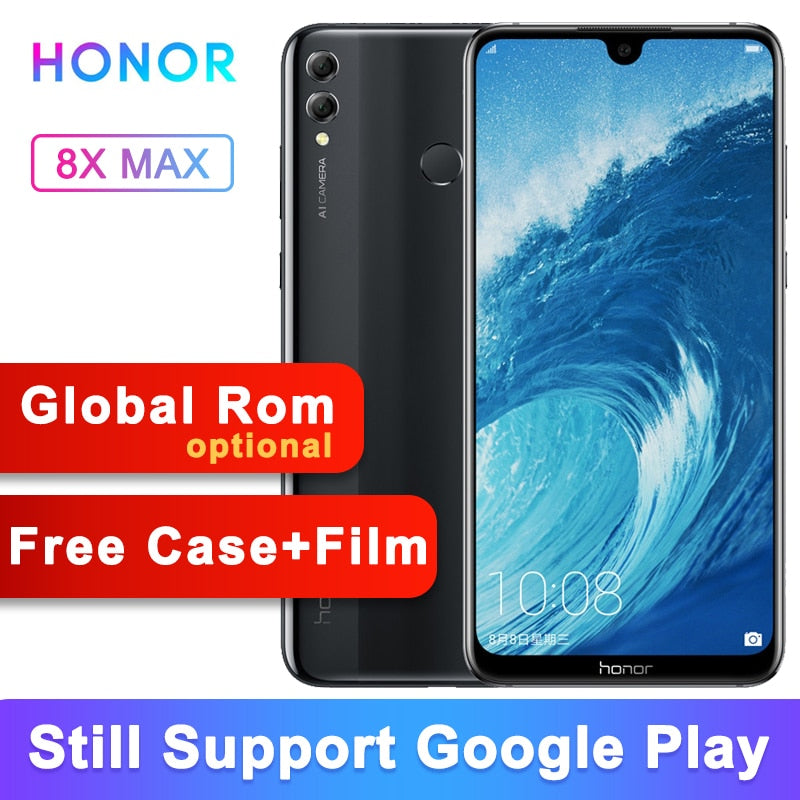 Original Honor 8X Max 6G 64G Global Rom 5000mAh 7.12