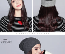 Load image into Gallery viewer, Warm Beanie 2019 Fashion Autumn Hats For Women Winter Brand New Lattice Cotton Knitted Hat Female Skullies Beanies Lady Bonnet - Starttech Online Market