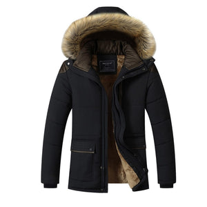 2019 New Winter Jackets Parka Men Autumn Winter Warm Outwear Brand Slim Mens Coats Casual Windbreaker Quilted Jackets Men - Starttech Online Market