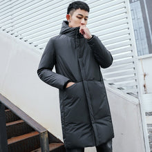 Load image into Gallery viewer, Men's Long Winter Down Jacket Cotton Padded Thick Cold Protection - Starttech Online Market