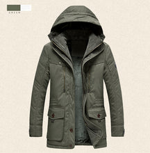 Load image into Gallery viewer, FGKKS Men Winter Parka Coat New Solid Color High Quality Men Hooded Coat Jackets Men's Warm Thick Casual Parka - Starttech Online Market