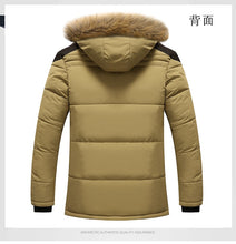 Load image into Gallery viewer, Aismz New Winter Men Down & Parkas Cotton-padded Jackets Men' s Casual Down Jackets Thicken Coats OverCoat Warm Clothing Big 5XL - Starttech Online Market