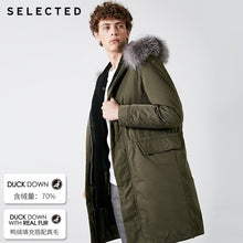 Load image into Gallery viewer, SELECTED Men's Winter Down Jacket Duck Down Fox Fur Medium-style Down Coat Warm Clothes S | 418412584 - Starttech Online Market