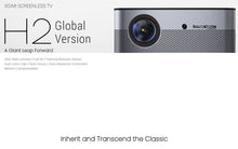 Load image into Gallery viewer, Global Version Xiaomi Mijia GIMI H2 Projector LCD HD 1080P 1920*1080 1350ANS TV Projector for Family Home and Office - Starttech Online Market