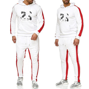 New 2019 Brand Tracksuit Classic Jordan23 Men Sportswear Two Piece Sets All Cotton Fleece Thick Hoodie+pants Sporting Suit Male - Starttech Online Market
