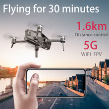 Load image into Gallery viewer, Brushless Drone GPS Follow Me 5G WIFI FPV Live video Optical Flow RC Quadcopter 1600M 30 Minutes Flight 4K Drone with Camera HD