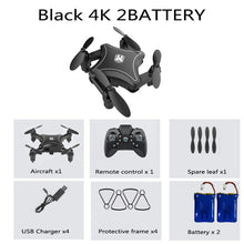 Load image into Gallery viewer, KY902 Mini Drone with 4K Camera HD Foldable Drones Quadcopter One-Key Return FPV Follow Me