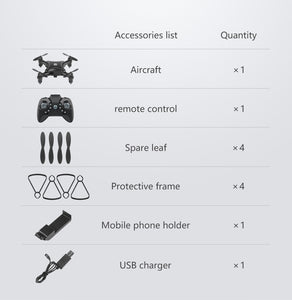 KY902 Mini Drone with 4K Camera HD Foldable Drones Quadcopter One-Key Return FPV Follow Me