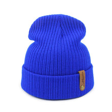 Load image into Gallery viewer, New Fashion Women Men Winter Hat Knitted Skuilles Beanies For Women Hats Balaclava Unisex Winter Cap Men Brand Hat Wholesale - Starttech Online Market