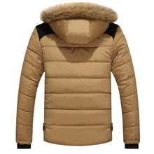 Load image into Gallery viewer, DIMUSI Mens Winter Jacket Male -25 'C Thick Thermal Cotton Parka Coats Mens Casual Faux Fur Collar Hoodies Jackets 6XL,TA270 - Starttech Online Market
