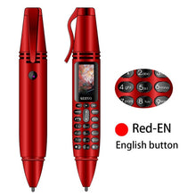 "Load image into Gallery viewer, SERVO K07 Pen mini Cellphone 0.96"" Tiny Screen GSM Dual SIM Camera Flashlight Bluetooth Dialer Mobile Phones with Recording pen - Starttech Online Market"