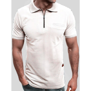 2019 Summer Business Casual Men Polo Shirt Solid Short Sleeve Man Polo Shirts Fashion Streetwear Male Top Tees Dropshipping - Starttech Online Market