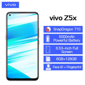 "Brand New vivo Z5x Mobile Phone 6.53"" Screen 8G 128G Snapdragon710 Octa Core Android 9 5000mAh Big Battery Smartphone - Starttech Online Market"