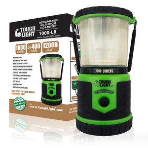 Tough Light 1000-LR Rechargeable LED Lantern (Green)