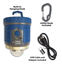 Load image into Gallery viewer, Tough Light 400-LR Rechargeable LED Lantern (Blue)