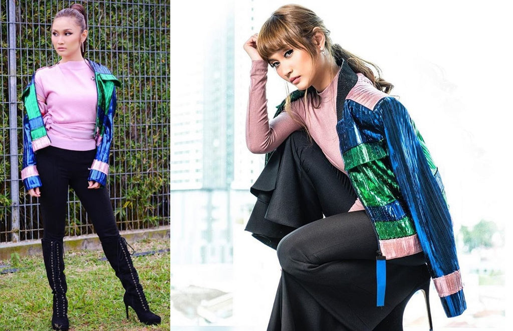 Ayda Jebat In Melinda Looi The Interiors Ready-To-Wear Collection