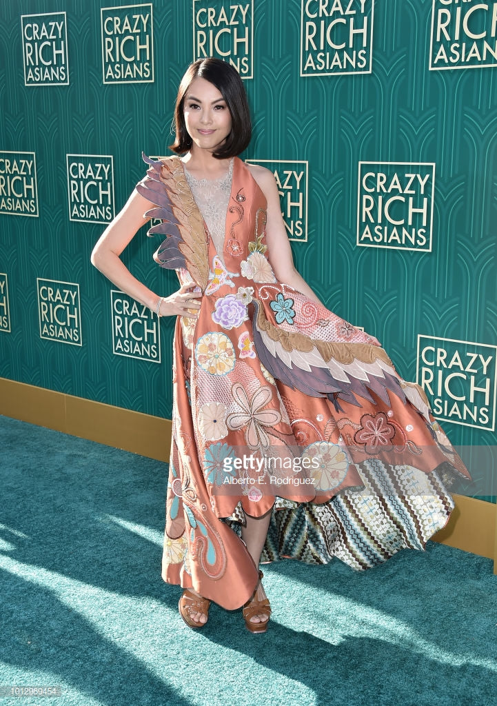 Carmen Soo In Melinda Looi Couture For Crazy Rich Asian Premiere In Los Angeles
