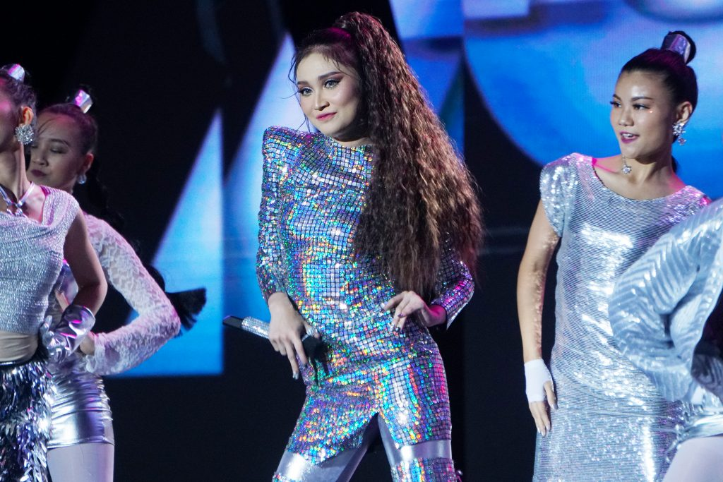 Ayda Jebat in Melinda Looi Couture for Anugerah MeleTOP 2019