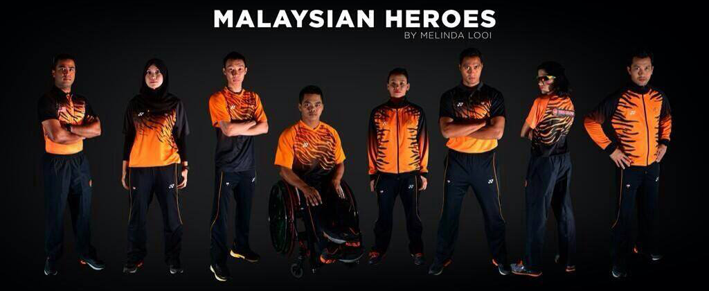 MELINDA LOOI X THE MALAYSIAN NATIONAL SPORTS TEAM'S UNIFORMS