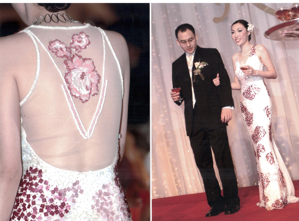 Mabel Lau in Melinda Looi Couture Bridal!