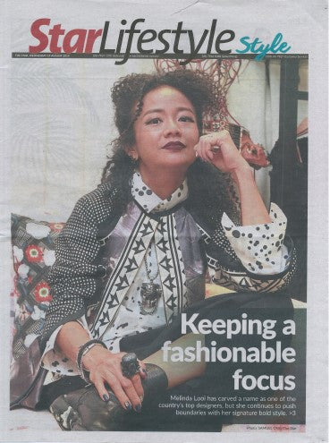 Keeping a Fashionable Focus @ Melinda Looi in Star Lifestyle, August issue 2019