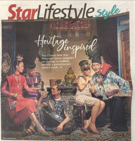 Melinda Looi in Star Lifestyle @ Malaysia December issue 2019
