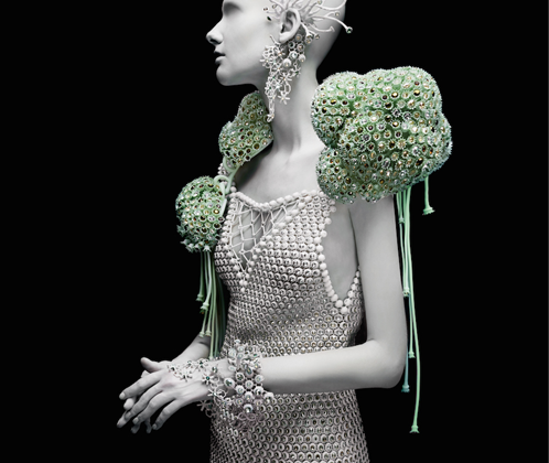 MELINDA LOOI X SAMUAL CANNING X MATERIALISE – 3D PRINTED FASHION COLLECTION 'GEMS OF THE OCEAN'
