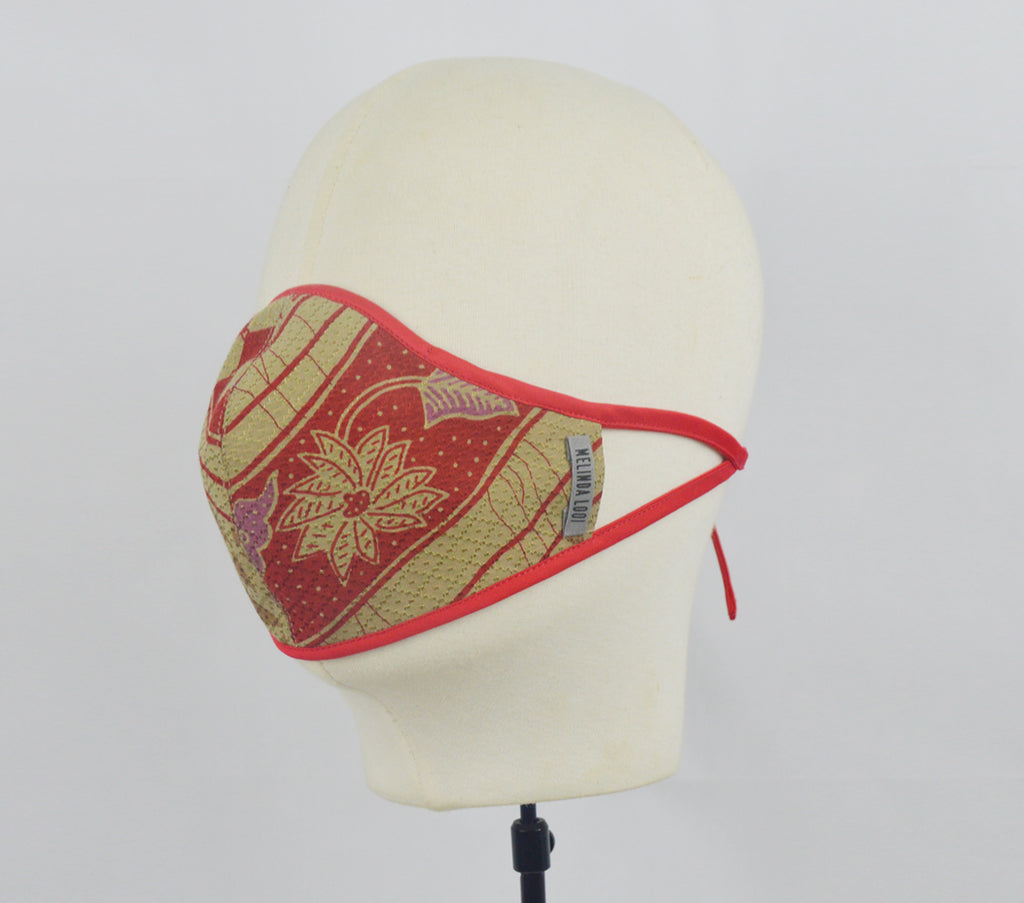 Leon - 5 Layer Mask (Limited Edition) - Red - F