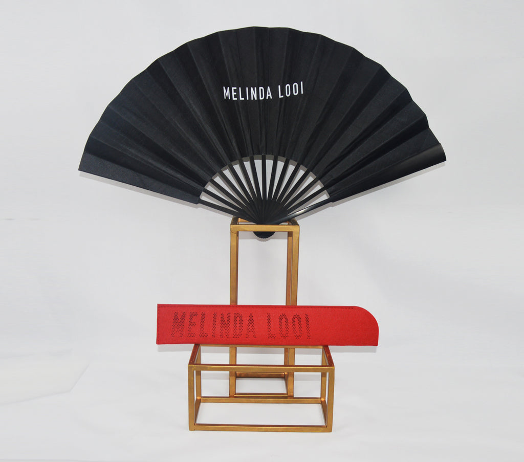 MELINDA LOOI FAN - BLACK