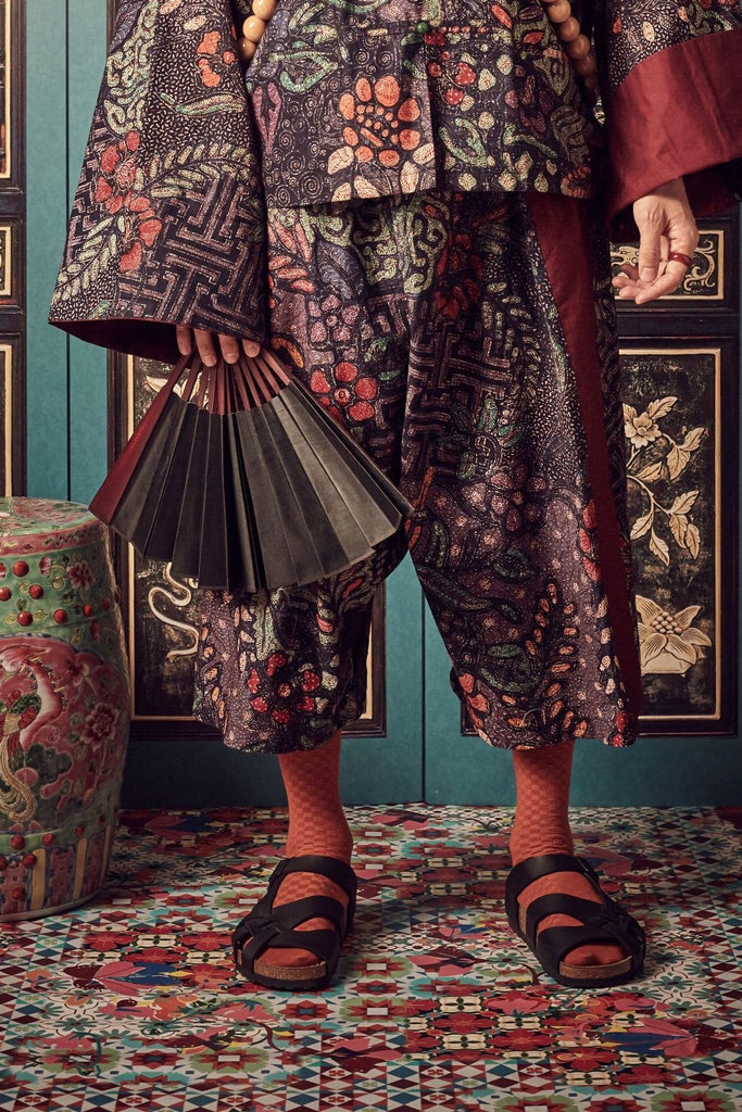 BATIK - MEN'S SAMFU TROUSERS - MULTI - Melinda Looi - Official Website