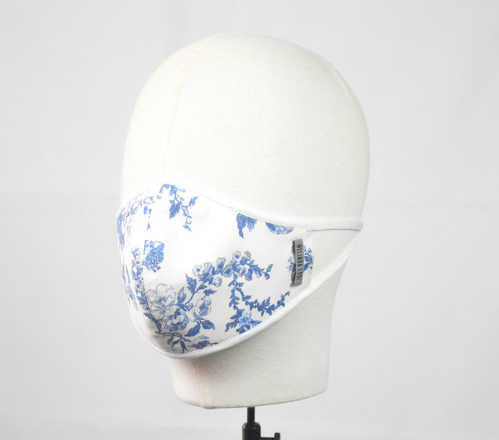 Louise - 5 Layer Mask - White - F