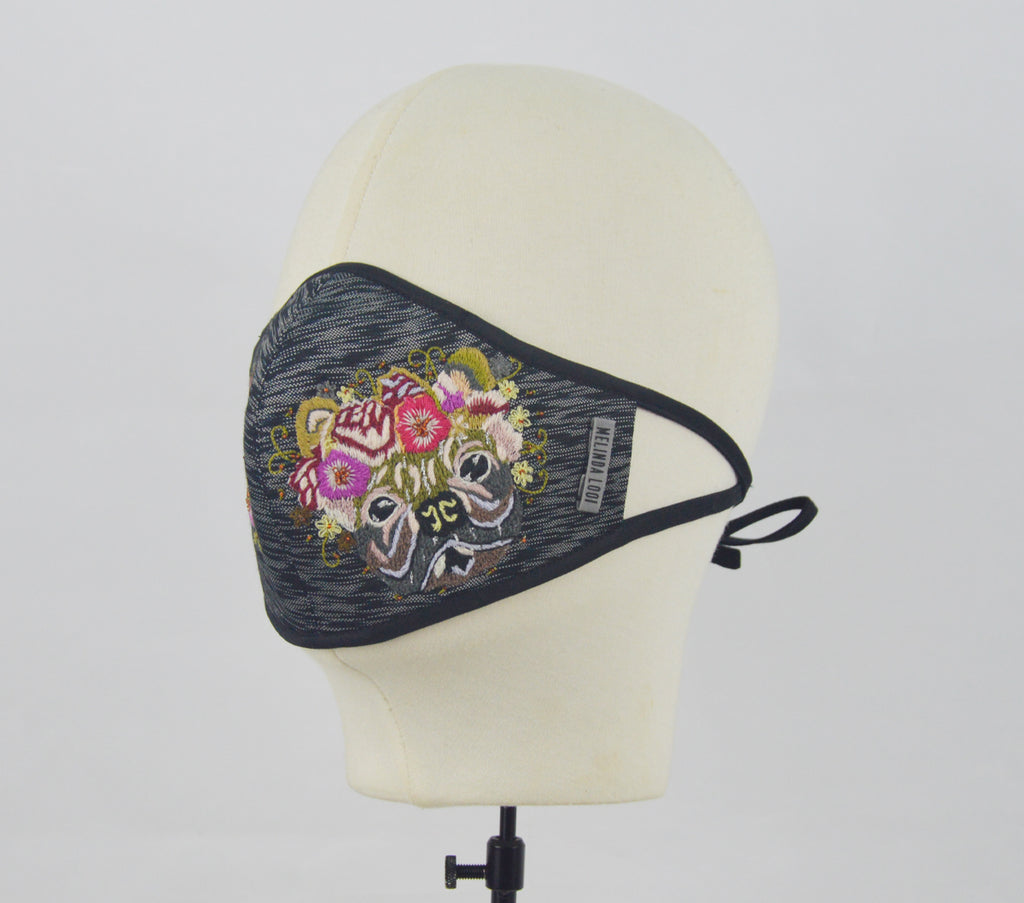 Trincy - 5 Layer Mask (Limited Edition) - Black - F